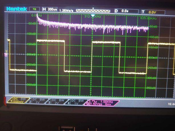 Oscyloskop cyfrowy 100MHz z generatorem arbitralnym