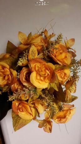 Sztuczne kwiaty - duży bukiet