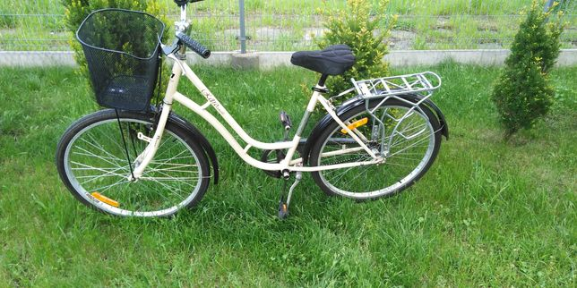 Rower damka marki retro style