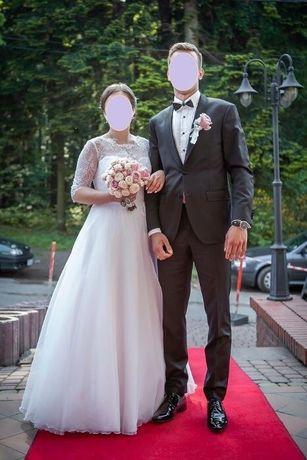 Smoking czarny (ślub, wesele, urodziny)