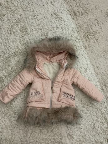 Куртка на дівчинк, зріст 98
