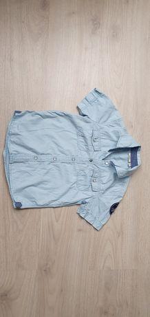 Koszula markowa Mexx 122 cm 6/7 lat niebieska