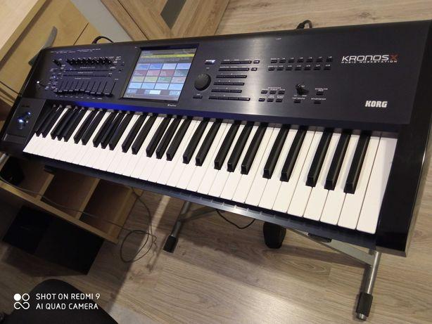 Korg Kronos X61. zamiana na Kurzweil.