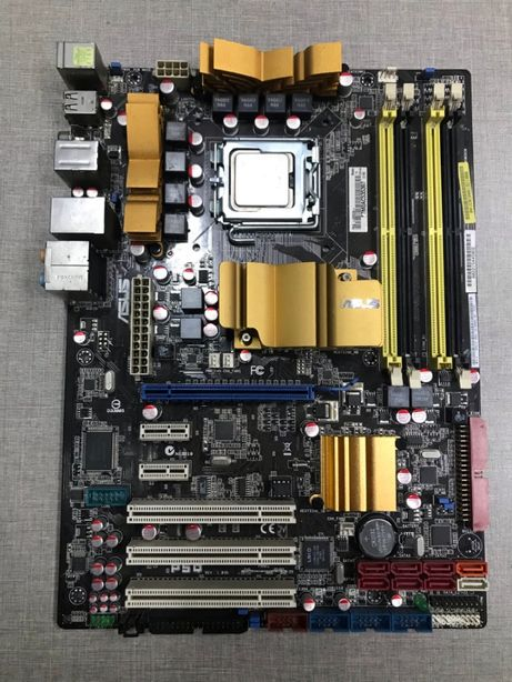 ASUS P5Q + Intel Xeon X5355 4x2.66GHz s775