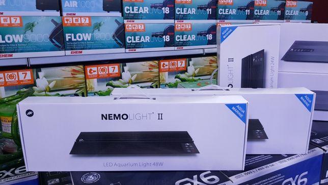 Calha led NemoLight II 48w para aquario agua salgada