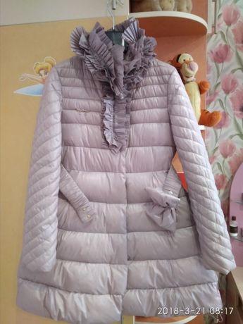 Зимнее пальто р 128-134 Via Lattea Италия