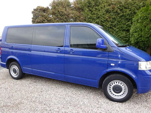 Volkswagen T5 LONG 2009r 9-osobowy