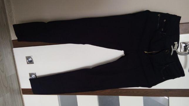 granatowe spodnie L