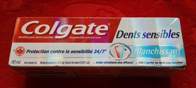 Pasta do zębów Colgate 90 ml. Wybielanie, nadwrażliwość,