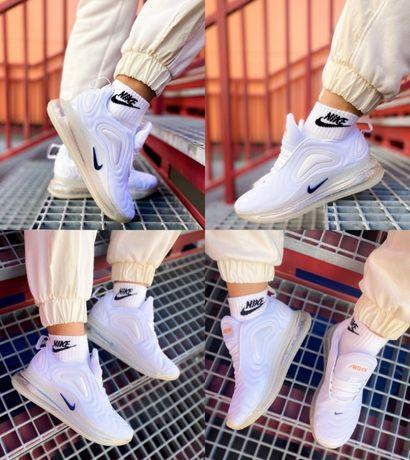 Женские кроссовки Nike Air Max 720 White Trainer 36-40! Наложка! Топ