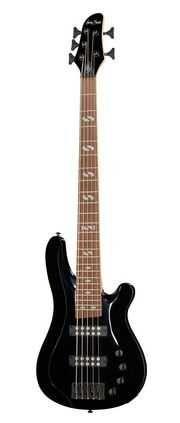 Baixo Harley Benton B-550 Black Progressive Series (5 cordas)
