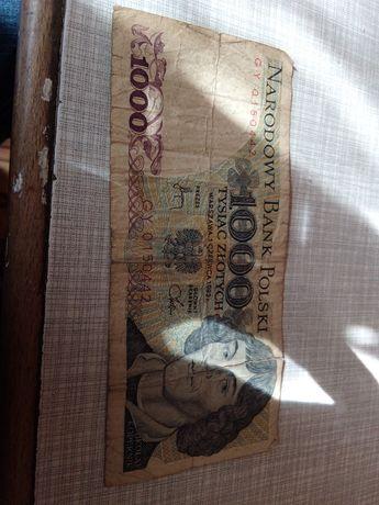 1000 Kopernik banknot