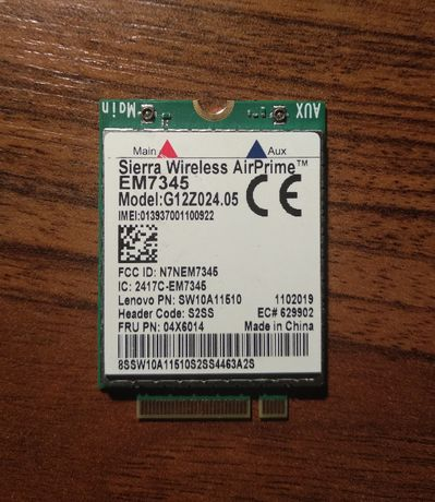 Modem LTE 4G Sierra wireless AirPrime EM7345
