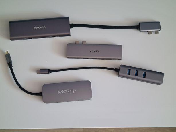 Hub USB C MacBook Pro Air Adapter przejściówka
