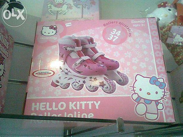 Patins hellho kitty