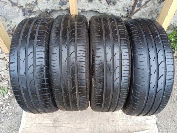 Continental 185/60r15 4 шт комлект  шины  резина склад лето б/у