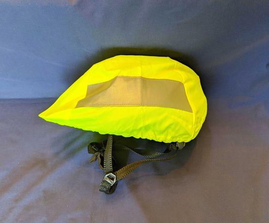 Велодождевик на шлем велошлем дождевик