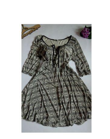 Платье миди 54 52 размер вышиванка на 8 марта натуральная ткань