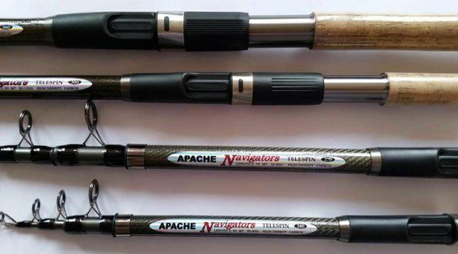 Спиннинг GW Apache Navigators Апачи НАВИГАТОР 2.4м тест 50-80 .Удочка.
