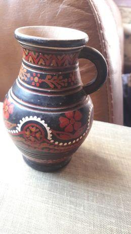 Деревянная ваза кувшин СССР