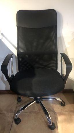 Cadeira ergonómica basculante rotativa nova