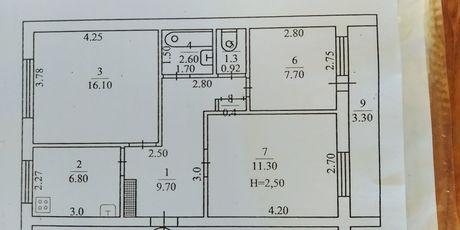 Продам 3х комнатную квартиру.