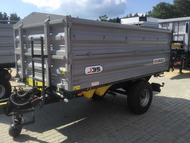 Przyczepa rolnicza CARGO J35  3,5 tony