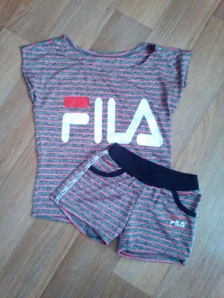 Летний костюм, літній костюм, футболка і шорти Fila