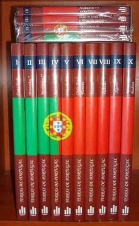 Terras de Portugal - 10 Volumes