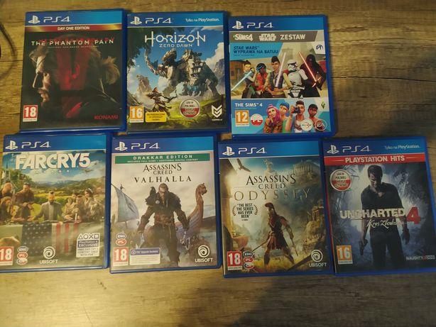 Sprzedam PlayStation 4 gry