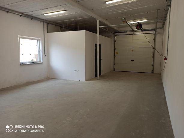Magazyn 80 m2 łazienka+biuro