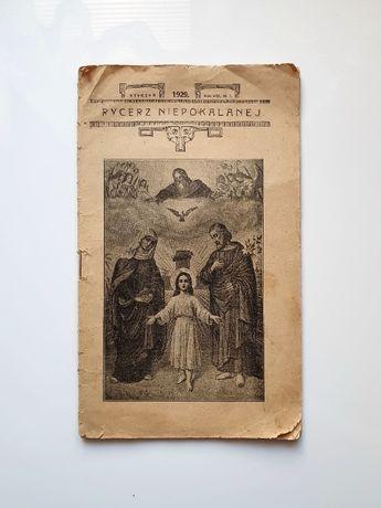 """""""Rycerz Niepokalanej"""" - styczeń 1929 r."""