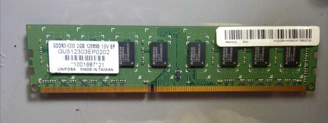 Memória DDR3 DE 2G