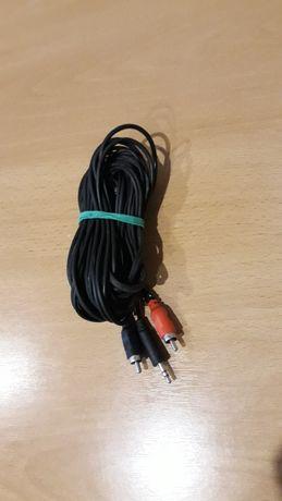 Przewód do podłączenia telefonu z urządzeniem zewnętrznym o dł. 6 m.