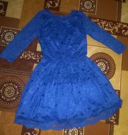 Гипьюровое платье