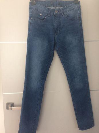 Reserved jeansy męskie niebieskie roz. 29 (S)