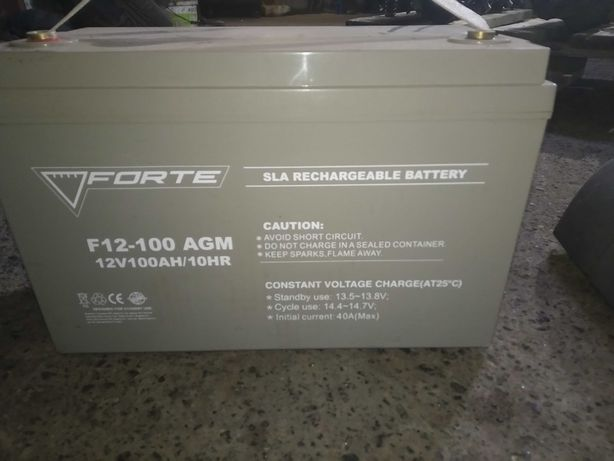 Аккумулятор Forte F12-100 AGM 100Ah