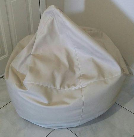 Puff / Banco / Sofá - grande em pele