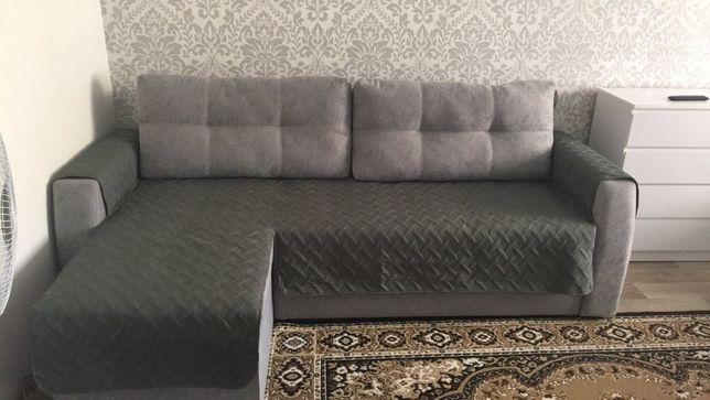 Покрывало - накидка на диван, подлокотники, угловой