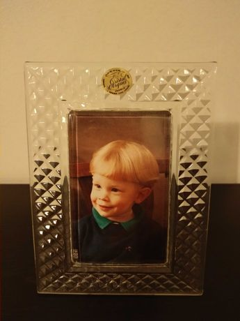 Moldura Cristal d'Arques na caixa original vintage
