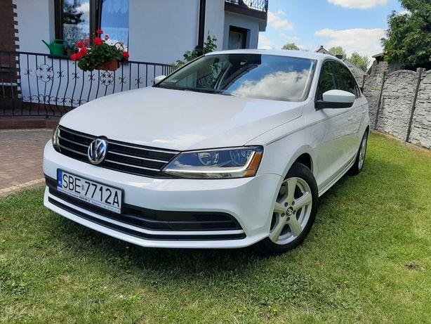 Volkswagen Jetta led biała niski przebieg okazja