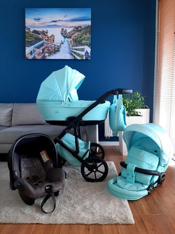 Wózek 3w1 Tako Corona 2020 z fotelikiem Maxi-Cosi City, jak NOWY