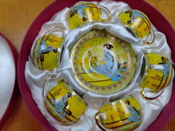 Кавовий фарфоровий сервіз Yamasen Japan