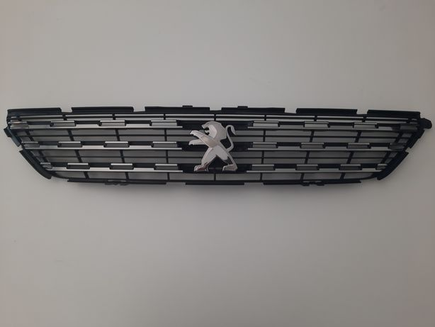 Grelha prateada + símbolo originais - Peugeot 308/308 SW II