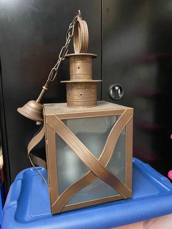 Candeeiro lanterna de tecto