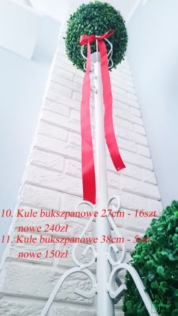 Wielka Wyprzedaż - Kule bukszpanowe 27cm