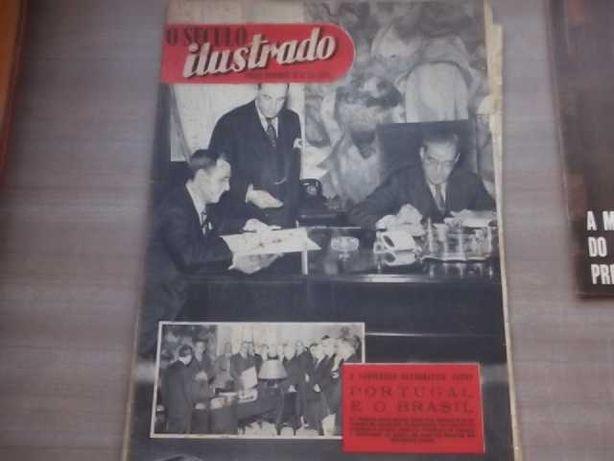 SALAZAR - 1944 Assinatura CONVENÇÃO ORTOGRÁFICA PORTUGAL e BRASIL