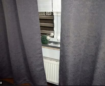 SZARE Zasłony IKEA Anita 147x260 2szt. z wiązaniem,grube,zaciemniające