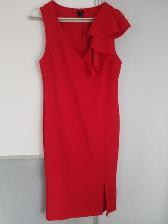 Piękna sukienka ołówkowa River Island czerwona 38