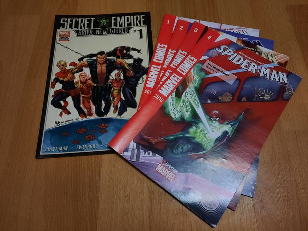Комиксы марвел marvel secret empire spider man спайдер мен